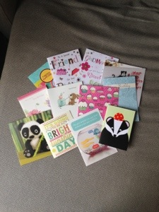 Lovely birthday cards